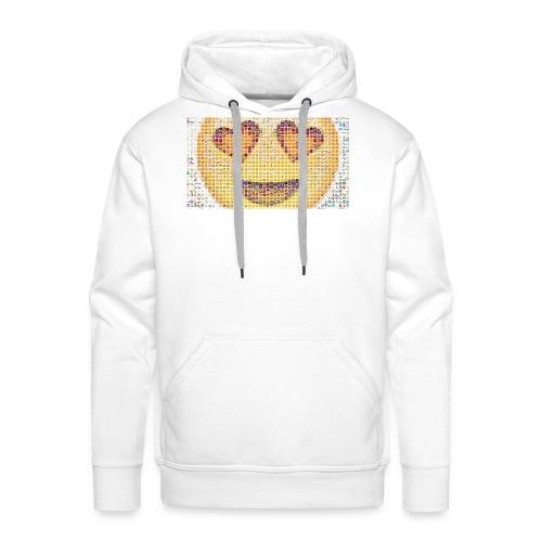 Emoij Hoesje - Mannen Premium hoodie