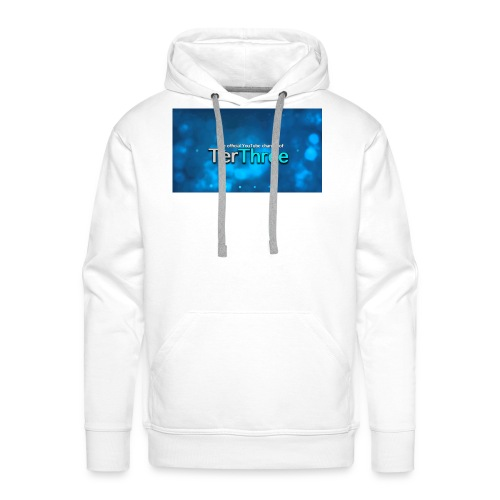 Ter Three Officail Banner - Men's Premium Hoodie