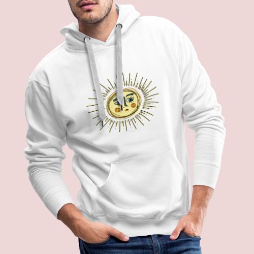 Sad Sun - Männer Premium Hoodie