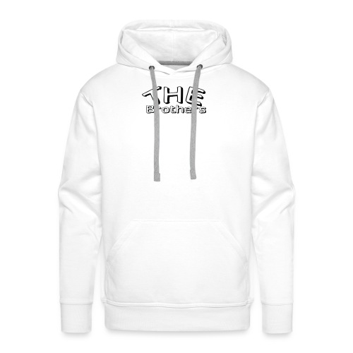 logo THE Brothers - Mannen Premium hoodie