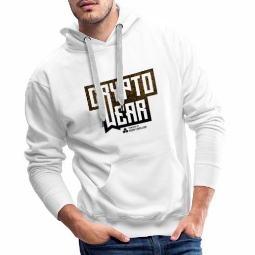 Cryptowear Logo ROOM-Token - Männer Premium Hoodie
