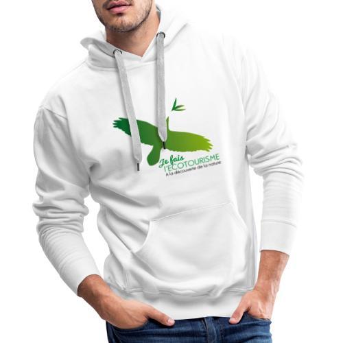 Écotourisme - Sweat-shirt à capuche Premium pour hommes