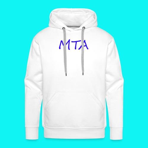 #MTA t-shirts - Herre Premium hættetrøje