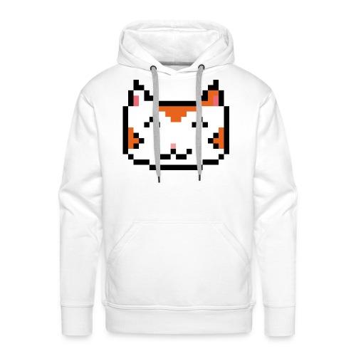 PixelSimpleCat - Men's Premium Hoodie
