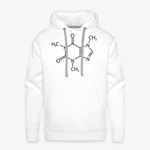 Cafeïne - Mannen Premium hoodie