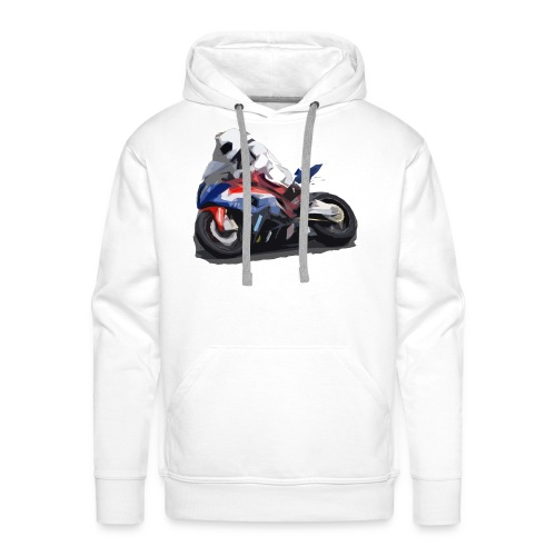MOTO - Felpa con cappuccio premium da uomo