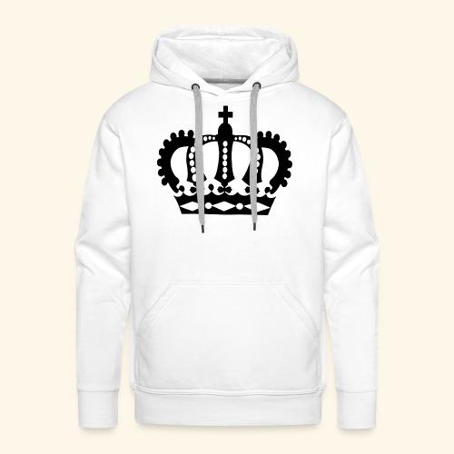 roi - Sweat-shirt à capuche Premium pour hommes