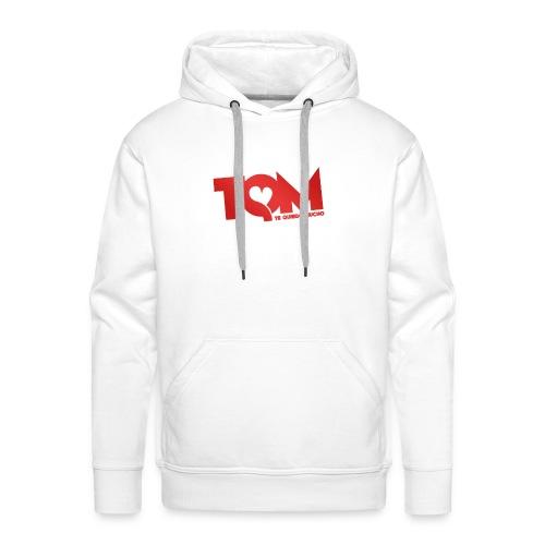 TQM canottiera - Felpa con cappuccio premium da uomo