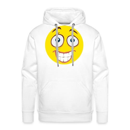 Gekke Smiley - Vrouwen - Mannen Premium hoodie