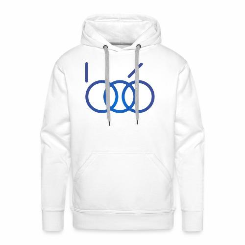 B06 IT Solutions Logo (blue) - Männer Premium Hoodie