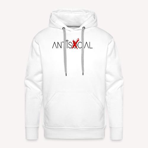 Antisocial - Men's Premium Hoodie