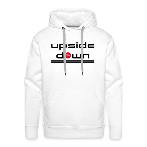 UpSideDown - Mannen Premium hoodie