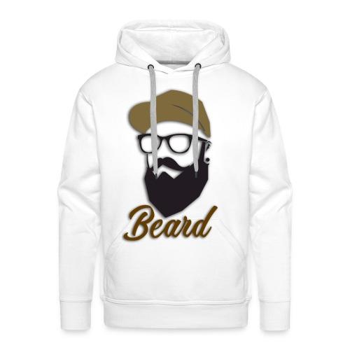 beard - Sudadera con capucha premium para hombre