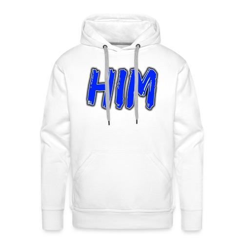 HIM LOGO HET IS MARIJN - Mannen Premium hoodie