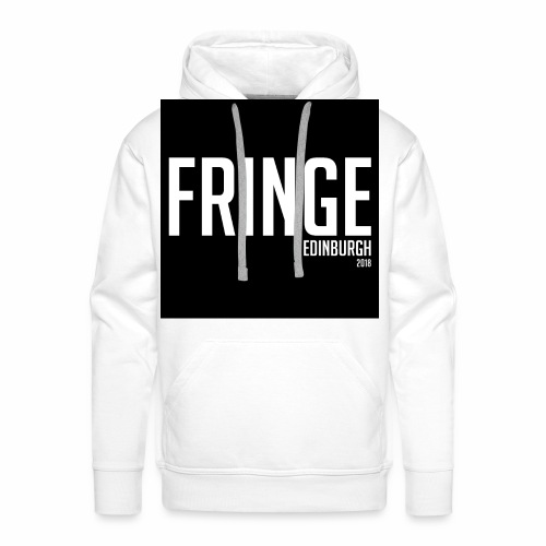 Fringe 2018 Black on White - Men's Premium Hoodie