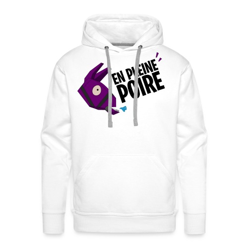 Fortnite Edition - En pleine Poire - Sweat-shirt à capuche Premium pour hommes