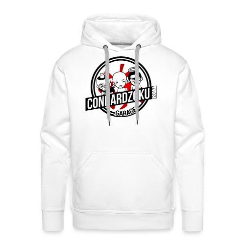 Connardzoku Garage - Sweat-shirt à capuche Premium pour hommes