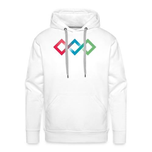 Fluo Diamonds - Men's Premium Hoodie
