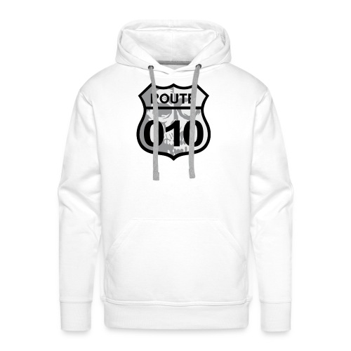 ROUTE-O10-skull-rugpatch-2-png - Mannen Premium hoodie