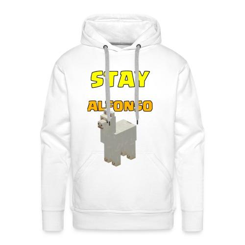 Stay alfonso - Felpa con cappuccio premium da uomo
