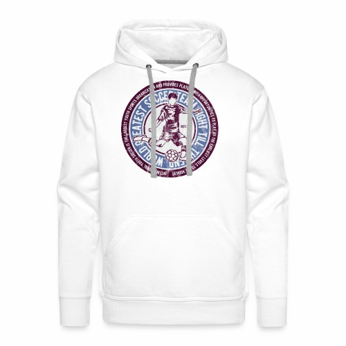 SOCCER TEAM - Fußball und Fußballer Geschenk Shirt - Männer Premium Hoodie