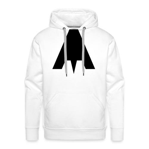 Grafisch Minimal A - Männer Premium Hoodie