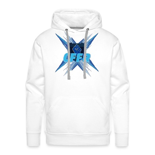 Logo CFFR combat - Sweat-shirt à capuche Premium pour hommes