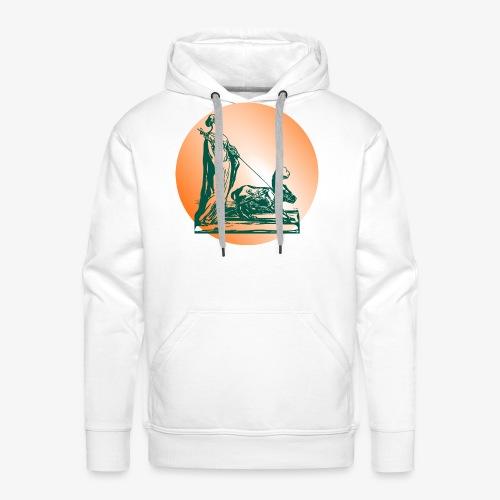si vis pacem para bellum - Sweat-shirt à capuche Premium pour hommes