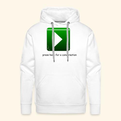 press here - Männer Premium Hoodie