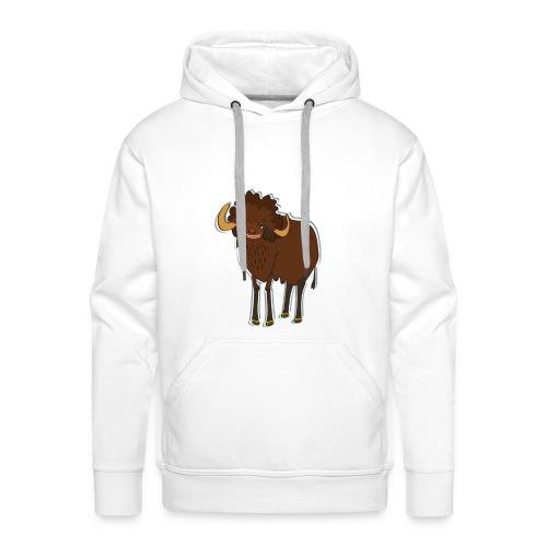 La bufala brasiliana - Felpa con cappuccio premium da uomo