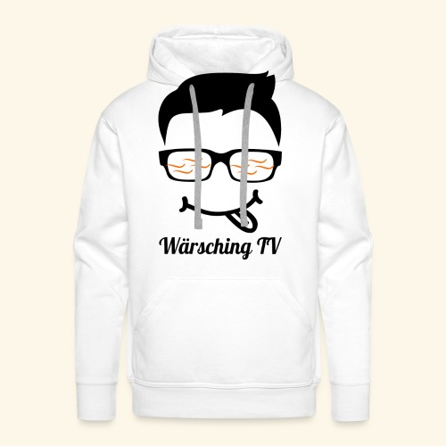 Logo WaerschingTV - Männer Premium Hoodie
