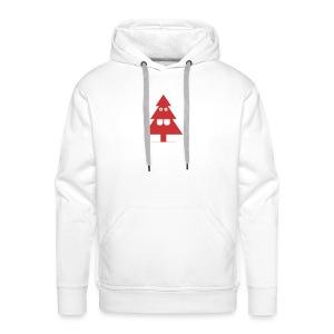 Kerstboom - Mannen Premium hoodie