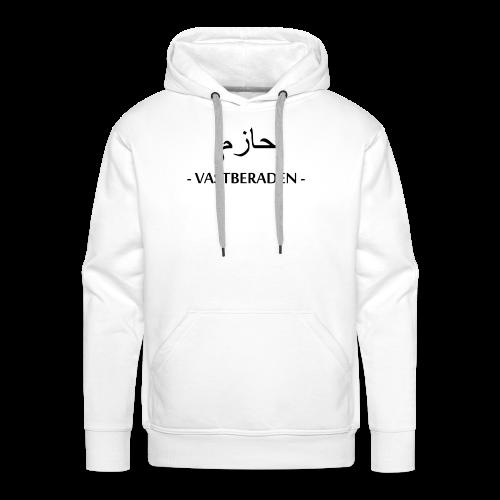 Vastberaden Men - Mannen Premium hoodie