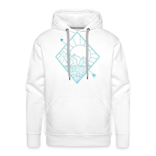 Alaska blue - Männer Premium Hoodie