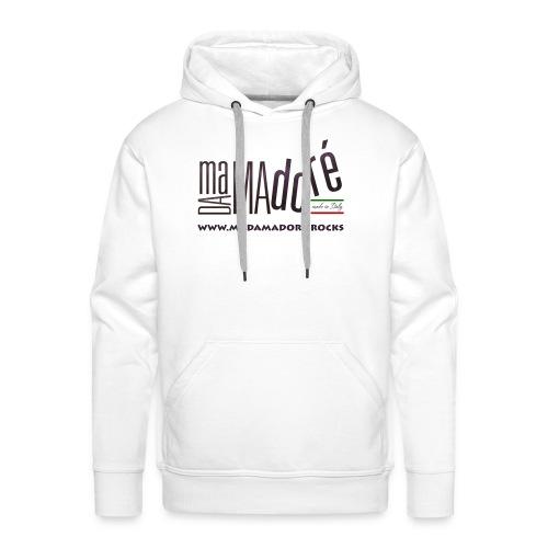 T-Shirt - Donna - Logo Standard + Sito - Felpa con cappuccio premium da uomo