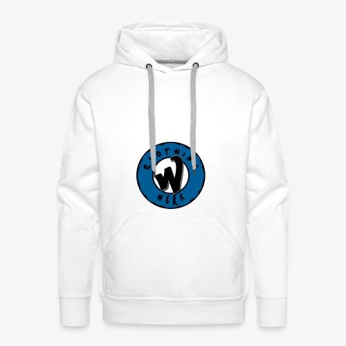 WERK logo - Sweat-shirt à capuche Premium pour hommes
