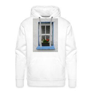 Cashed Cottage Window - Men's Premium Hoodie