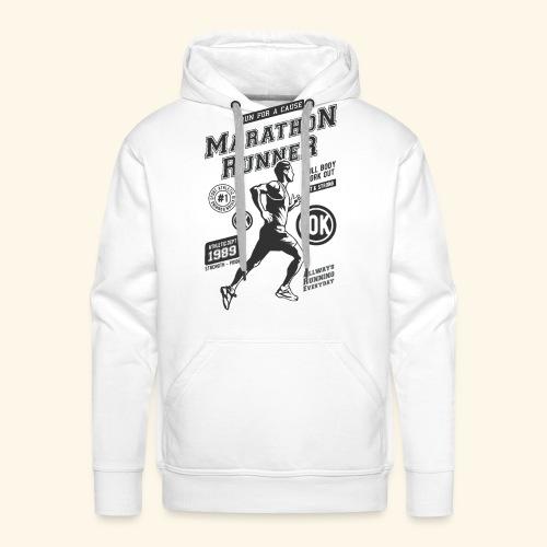 1989 MARATHON RUNNER Jogger Sport Geschenke Shirts - Männer Premium Hoodie