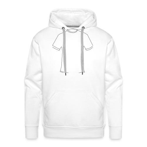 T-Shirt in T-Shirt - Männer Premium Hoodie