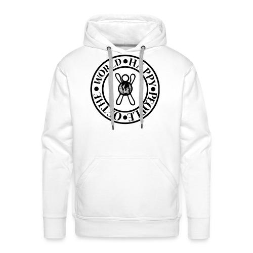 Happy People Circle - Mannen Premium hoodie