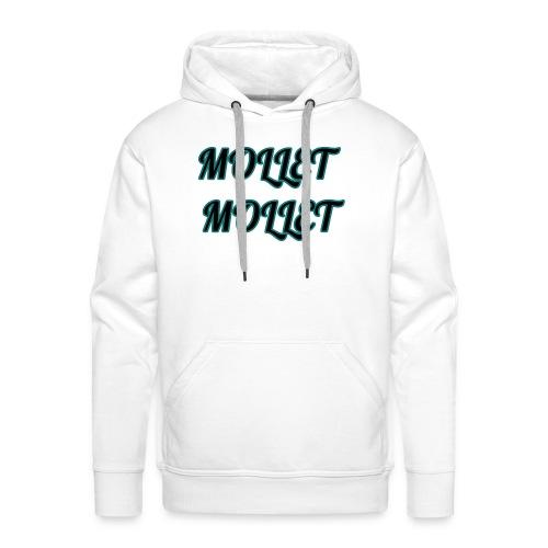 mollet mollet squad - Sweat-shirt à capuche Premium pour hommes