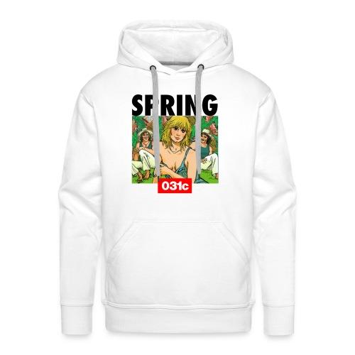 spring - Sweat-shirt à capuche Premium pour hommes