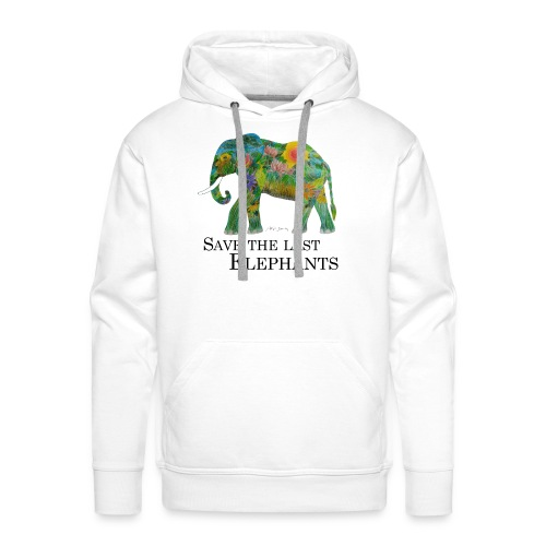 Save The Last Elephants - Männer Premium Hoodie