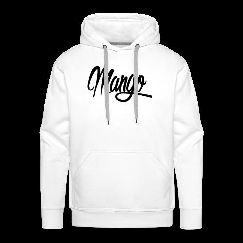 Mango Black Design Women - Mannen Premium hoodie