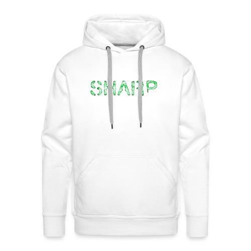 Sharp Clan black hoodie - Men's Premium Hoodie