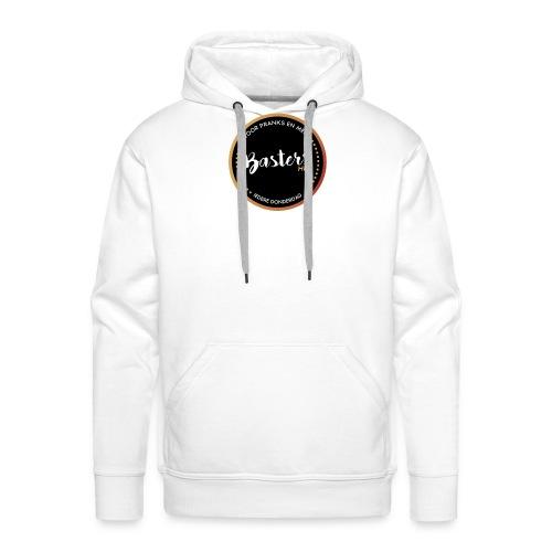 Basters pet - Mannen Premium hoodie
