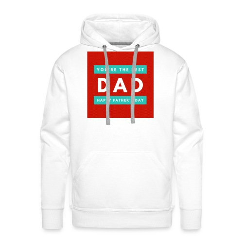 DAD day - Sweat-shirt à capuche Premium pour hommes