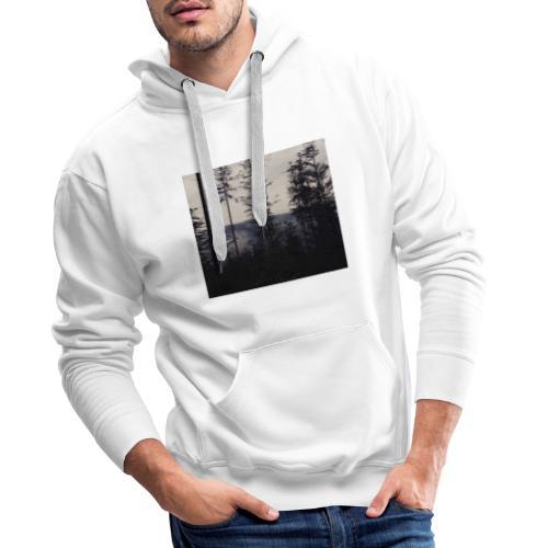 LAS W GÓRACH - Bluza męska Premium z kapturem