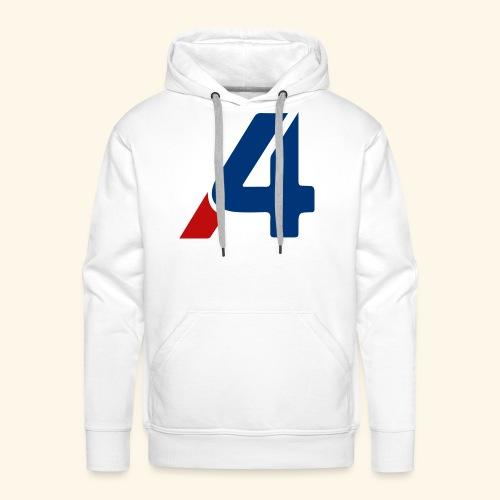 A4 - Sudadera con capucha premium para hombre