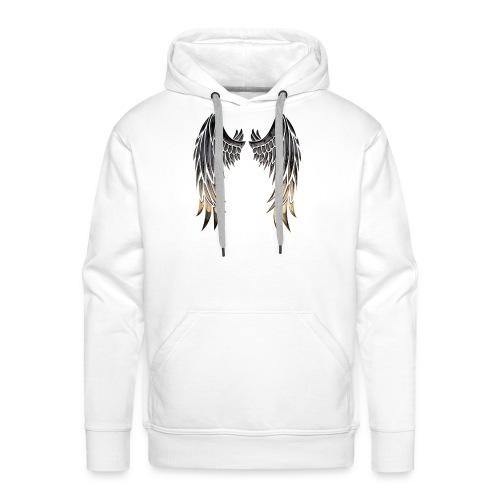 Angelwings - Sweat-shirt à capuche Premium pour hommes